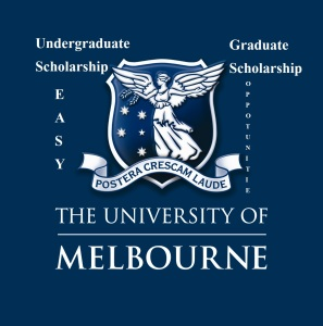 Scholarship in Univeristy of Melbourne