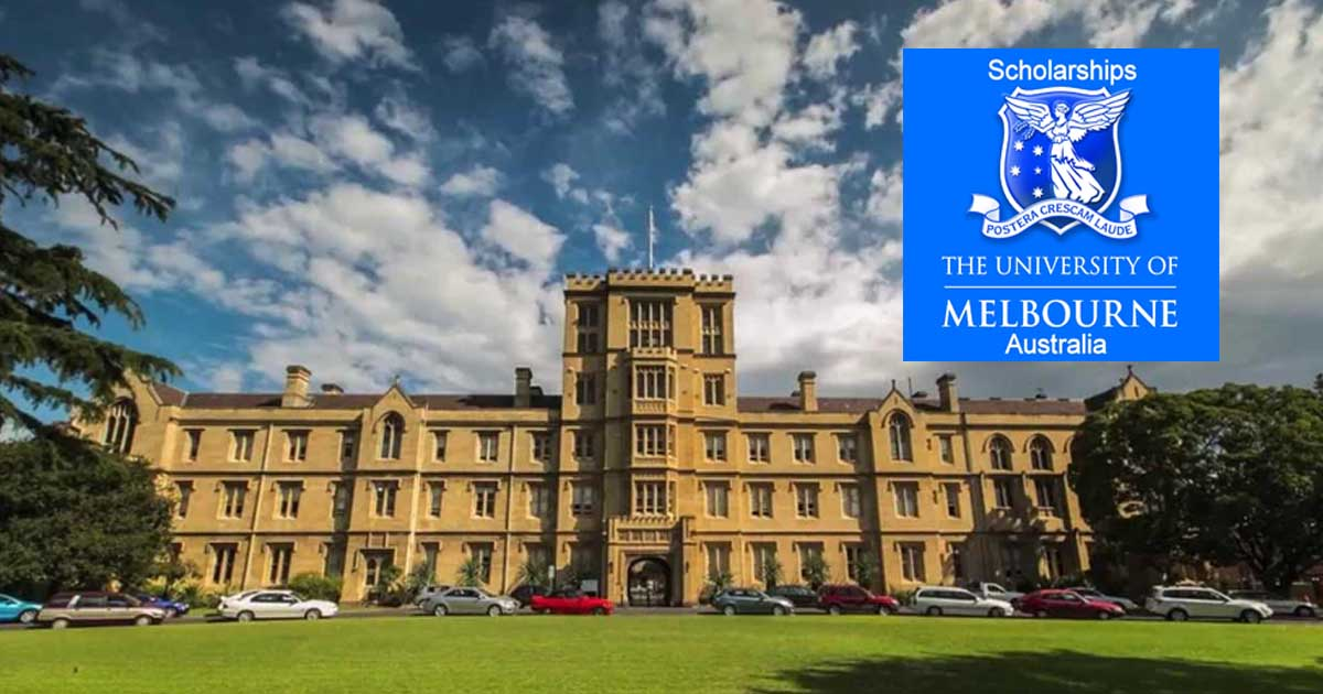 Fully Funded Scholarships at the University of Melbourne in Australia