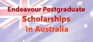 Endeavour Postgraduate Scholarships in Australia for International Students