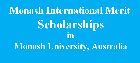 Monash International Merit Scholarships