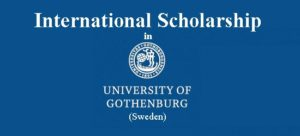University of Gothenburg International Scholarship