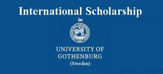 University of Gothenburg International Scholarship