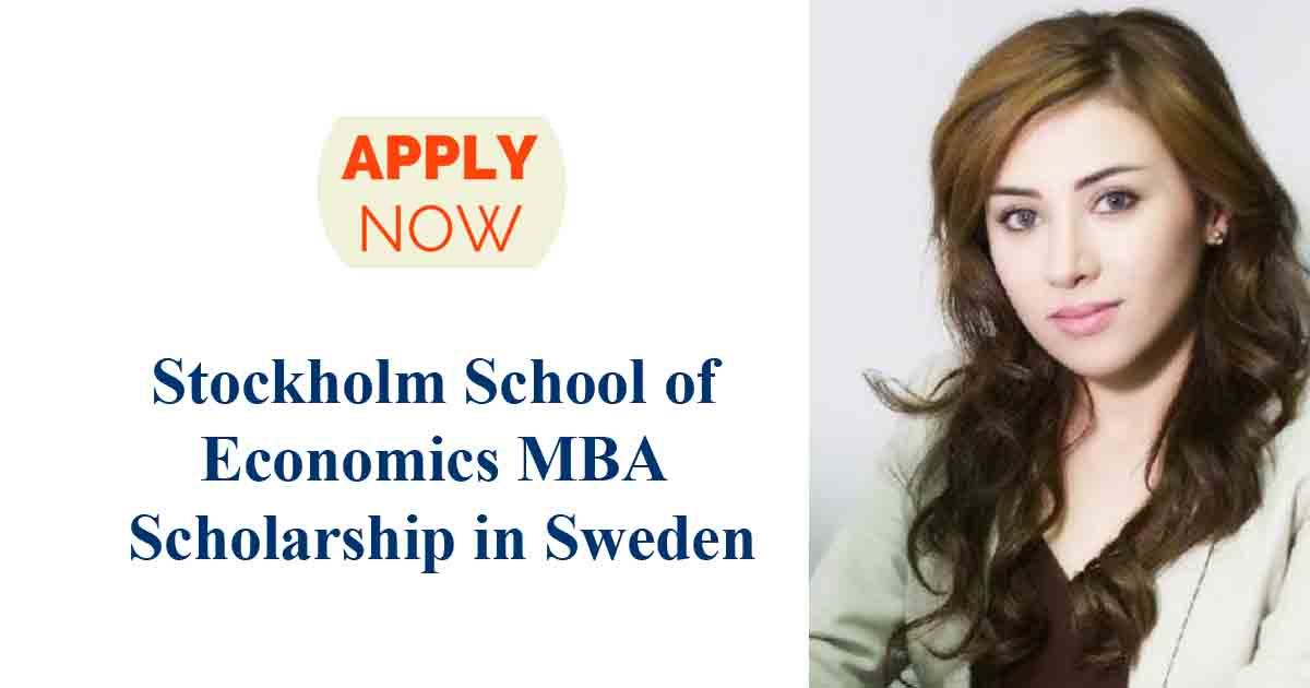 Image result for Stockholm School of Economics MBA Scholarship in Sweden,