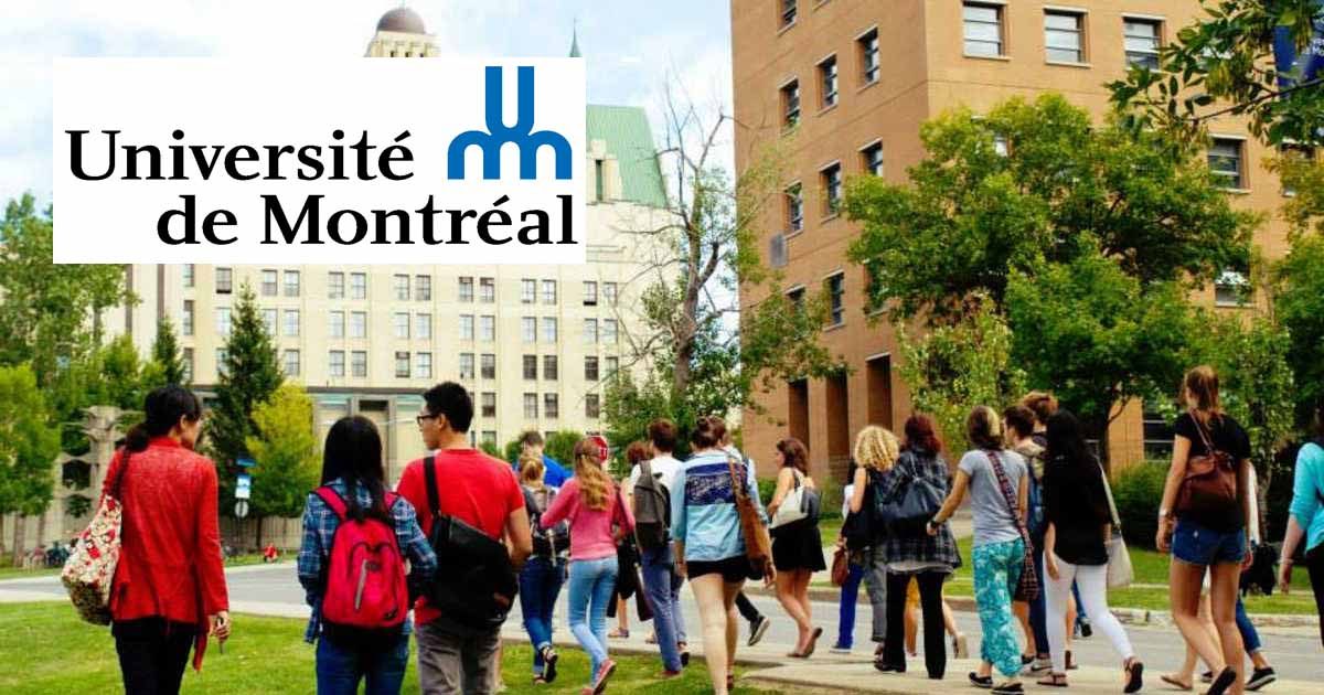 Scholarship in University of Montreal – ScholarshipCare